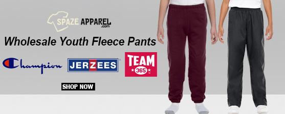 Wholesale Youth Fleece Pants