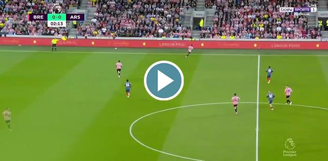 Brentford vs Arsenal Live Score