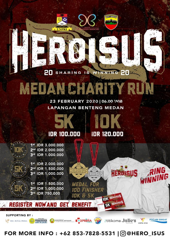 Hero is Us 3 - Medan Charity Run • 2020
