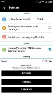 BBM Mod Official 2.13.1.14 Apk