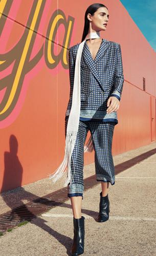 estilo pijama tendencia de moda primavera El Corte Inglés 2016