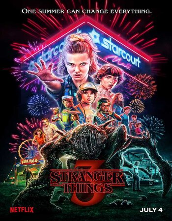 Stranger Things S03 Complete Dual Audio 720p 480p HDRip x265 Multi Subs Download