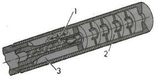 Глушитель с предварительным отводом пороховых газов из канала ствола