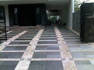 Batu sikat | ampyangan | carport | tukang taman banjarmasin 8