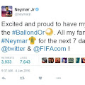 Cool, There Emoji FIFA Ballon D'Or on Twitter