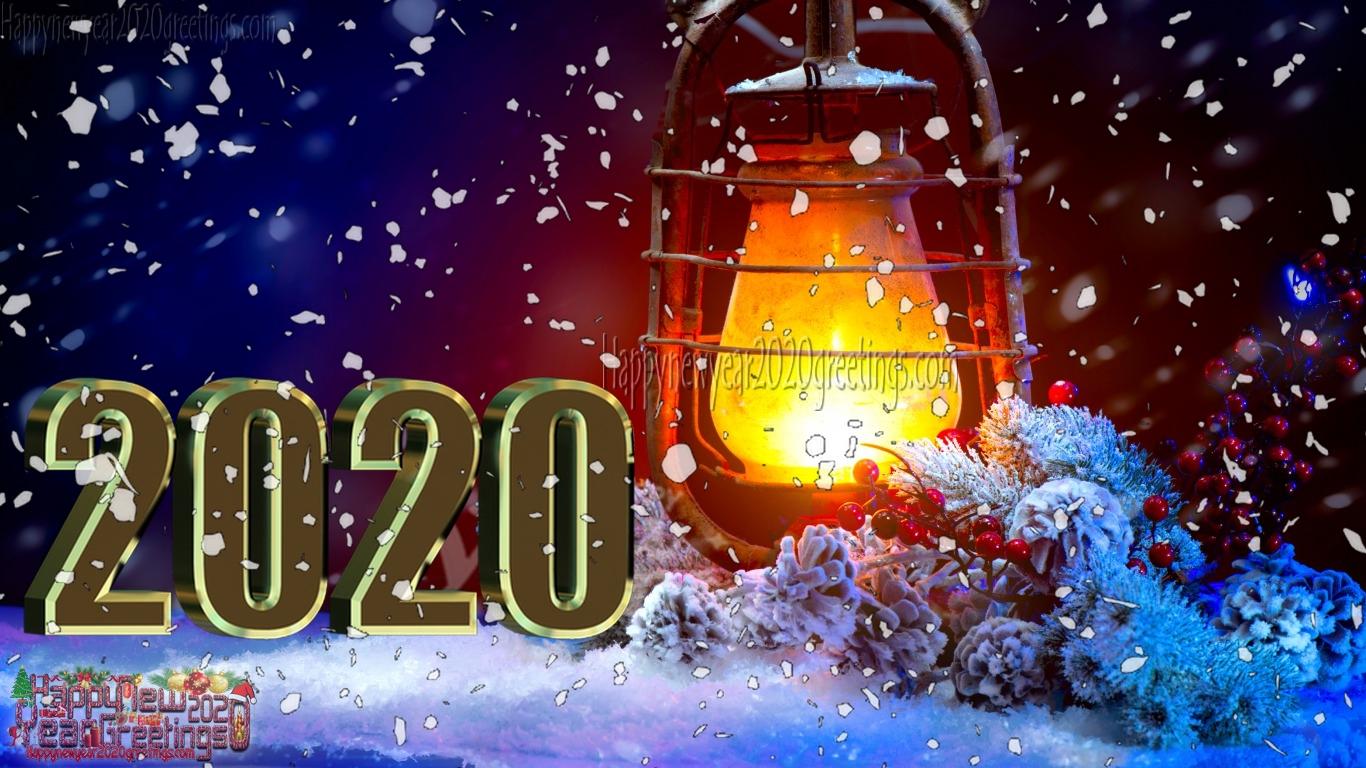 Happy New Year 2020 3d Desktop Background Wallpapers