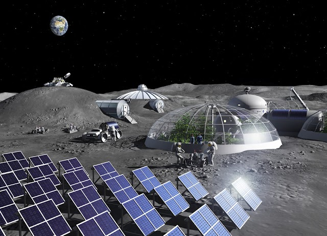 Η ESA άνοιξε εργοστάσιο οξυγόνου στη σελήνη, καθιστώντας τον αέρα αναπνεύσιμο
