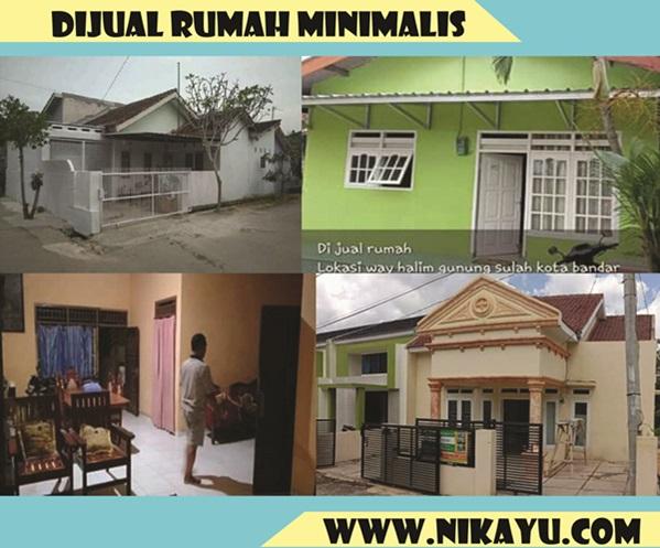 Jual 4 Rumah Minimalis di Lampung, Harga Murah, dan Strategis