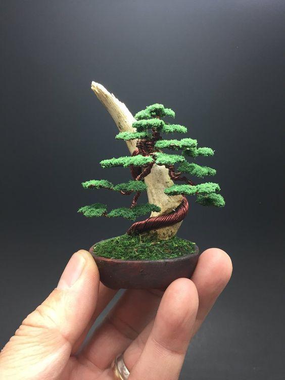 koralikowe drzewka tutoriale