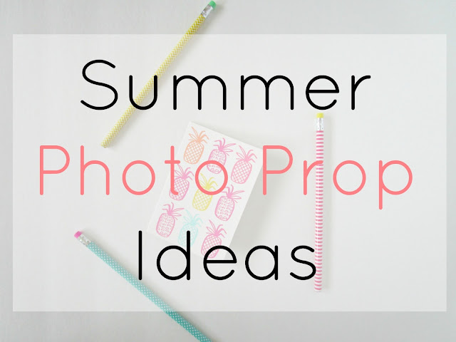 Summer Photo Prop Ideas from Courtney's Little Things