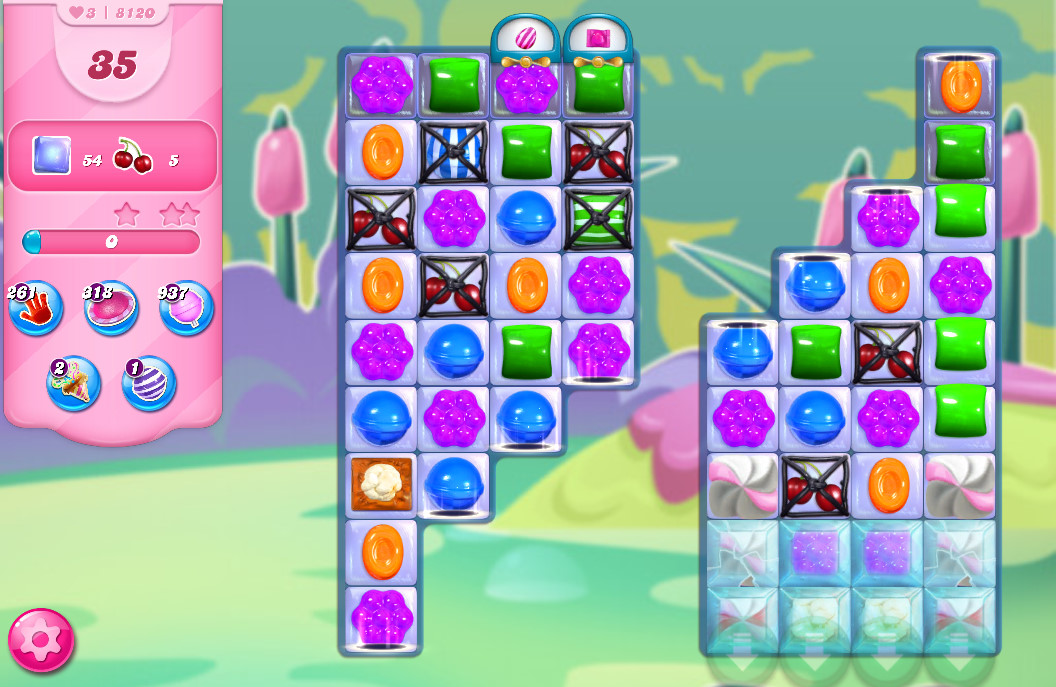 Candy Crush Saga level 8120