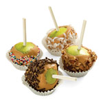 Mini Caramel Apples - Step 2