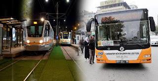 بلدية غازي عنتاب تعلن عن مجانية المواصلات غداً في المدينة