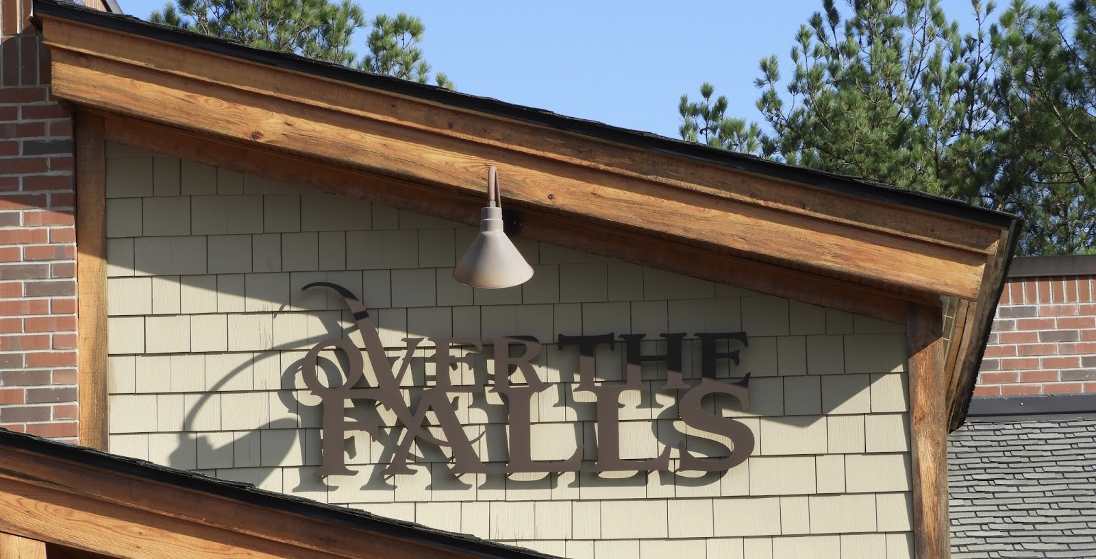 Over The Falls Restaurant In Wake Forest North Carolina