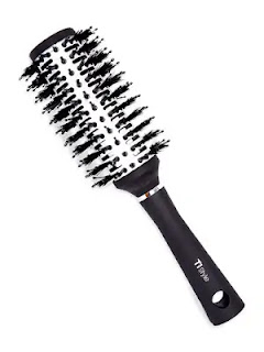 TI-Style thermal round hairbrush