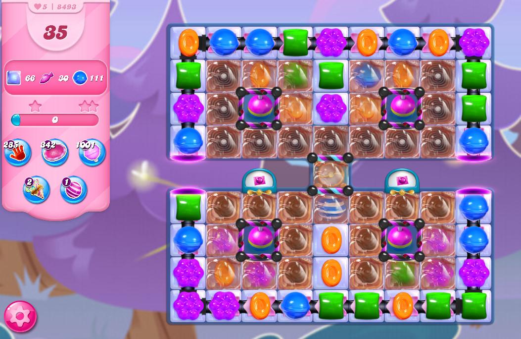 Candy Crush Saga level 8493