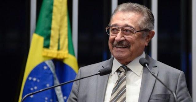 Corpo do senador José Maranhão será recebido com honras em João Pessoa