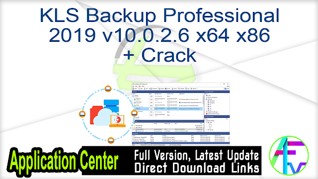 KLS Backup Professional 2019 v10.0.2.6 x64 + Crack