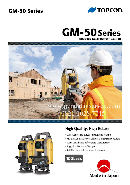 GM-52 GM-55 Series (TOP Basic) - Total Station TOPCON