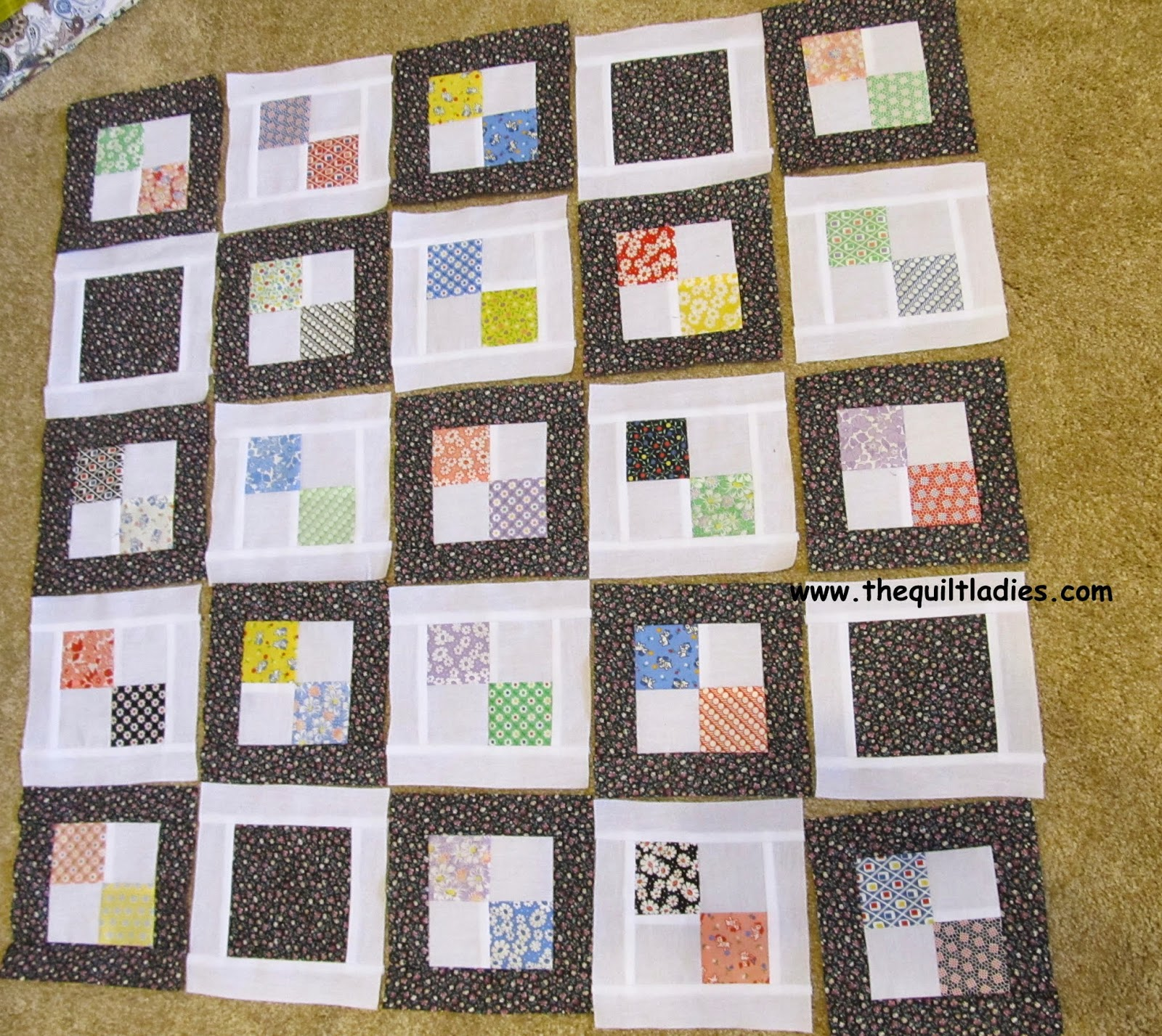 tutorial on how to make a 4-patch quilt block free