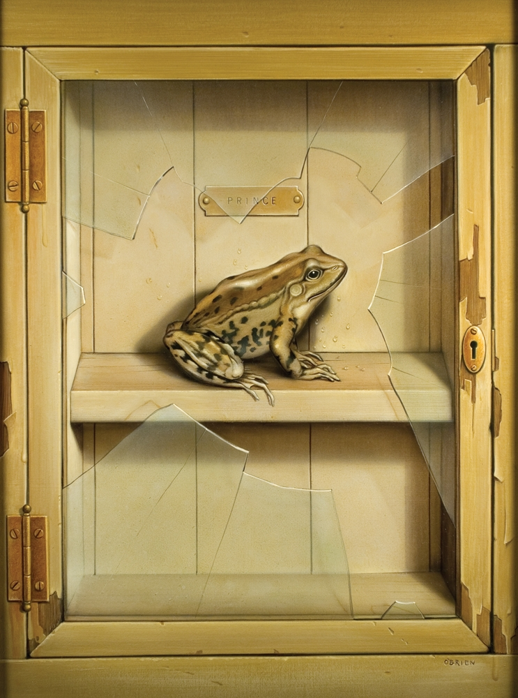 09-Frog-Prince-Tim-O-Brien-Conceptual-Paintings-that-use-Art-to-Express-an-Idea-www-designstack-co
