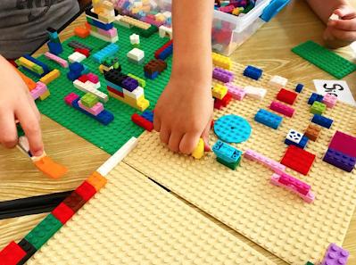 Legos in K-1