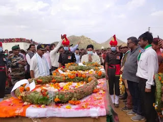 Naresh Kumar: Martyr's final farewell to state funeral, funeral of 4-year-old son
