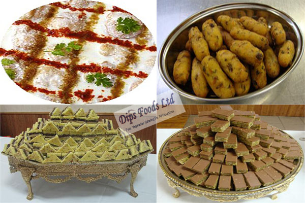 vegetarian caterers in london by dips foods