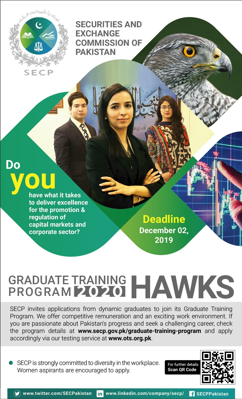 SECP Graduate Training Program 2020 Through OTS Apply Online