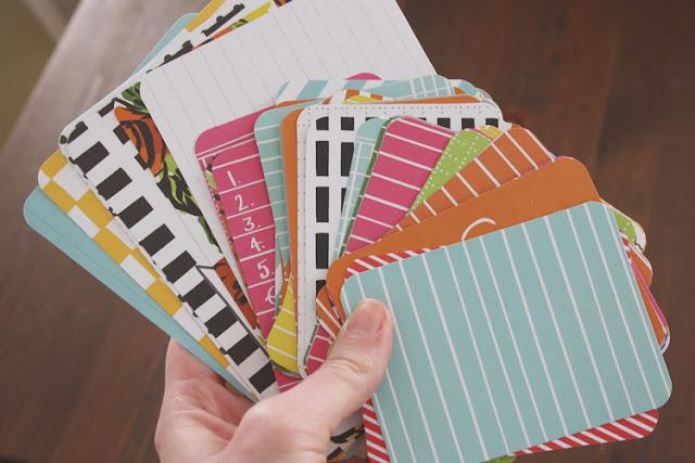 Project Life von Becky Higgins | meine ersten Karten zum Scrapbooken |Hobby und Leidenschaft ||mimizukudesign.blogspot.com