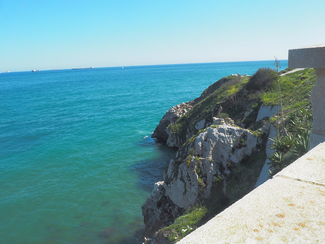 mediterranean sea gibraltar beach