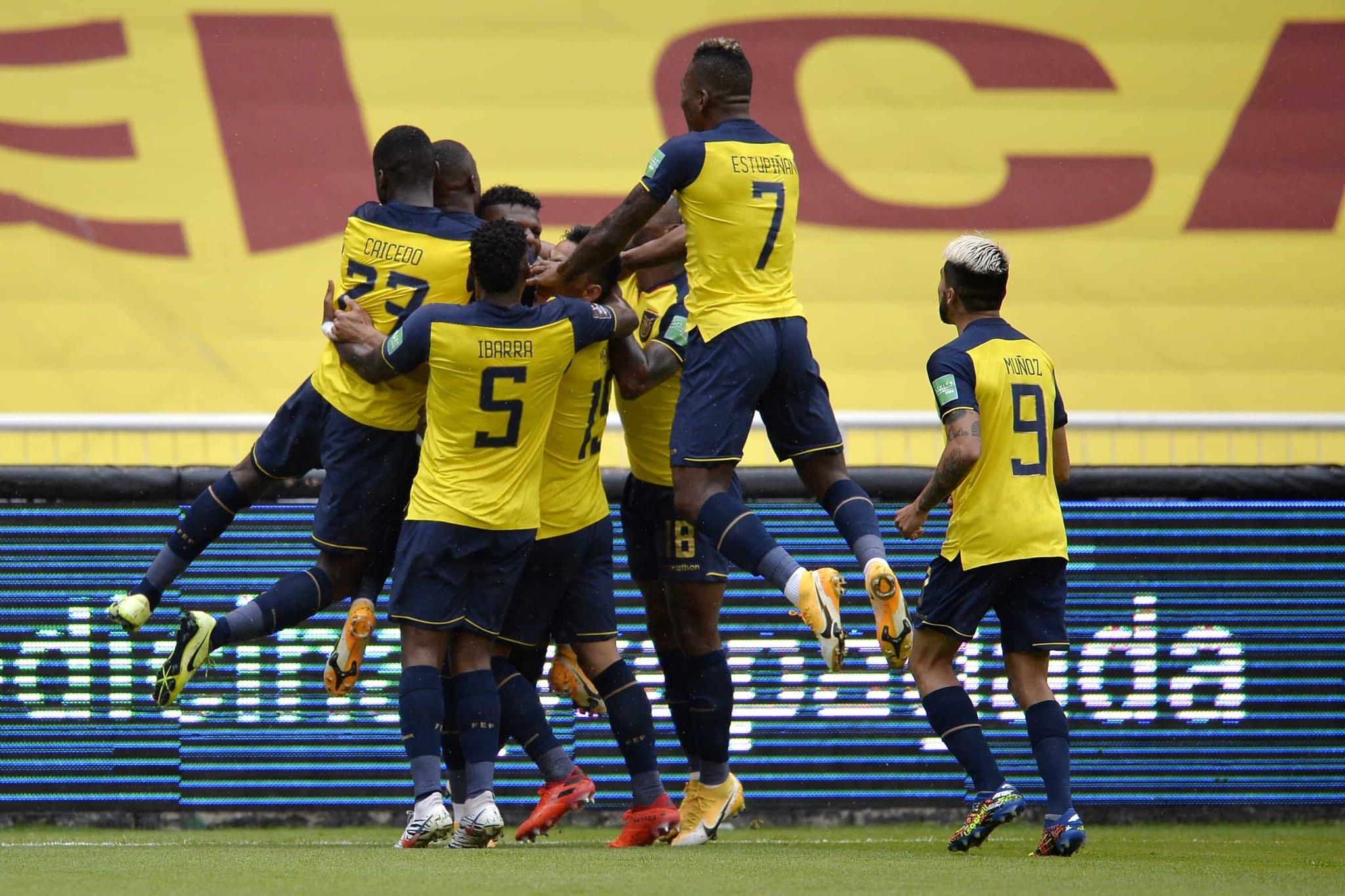 Ecuador 6-1 Colombia Eliminatorias Sudamericanas
