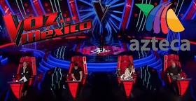 Los Coaches de La Voz México de TV Azteca en el 2020