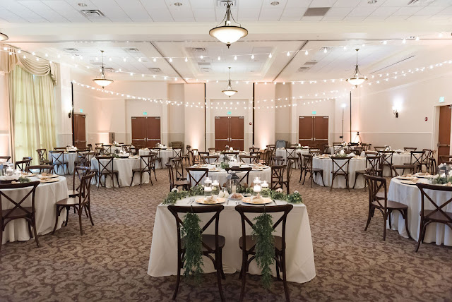 wedding reception ballroom at lake mary events center
