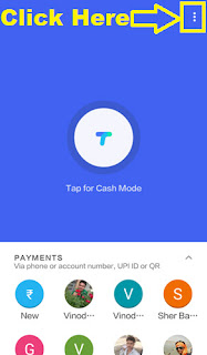 how to add bank account in google tez app