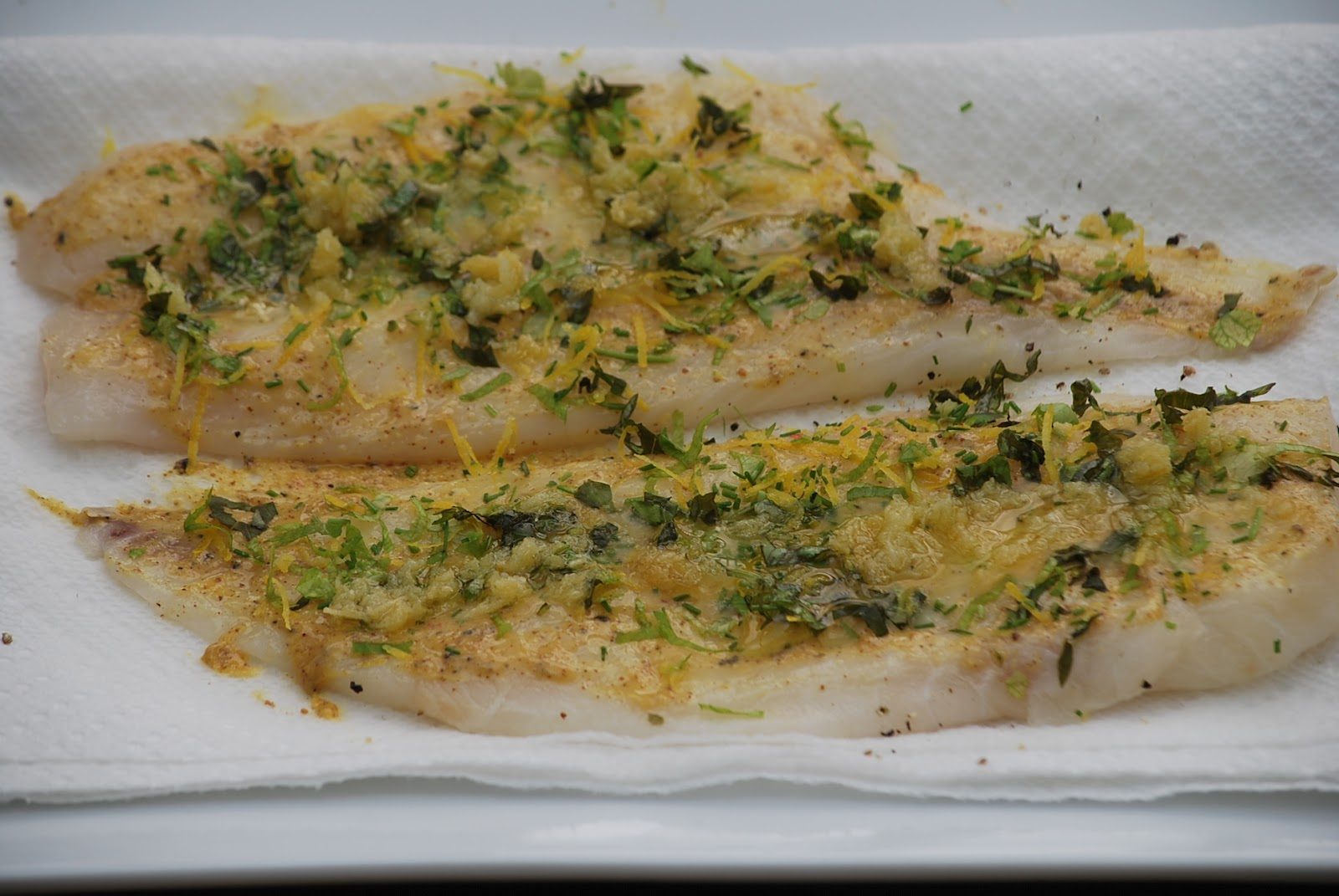 My story in recipes: Orange Roughy