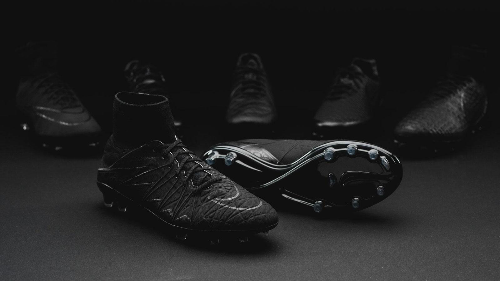 e17637c2f ... Blackout Nike Hypervenom Phantom 2 Academy Pack Boots Released - Footy  Headlines