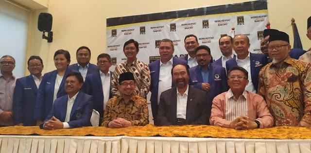 Antisipasi Ada Gejolak Di Koalisi Jokowi, Nasdem Sedang Cari Kawan Politik Baru