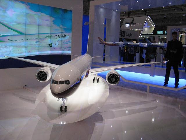 Boeing 777X Scale Model