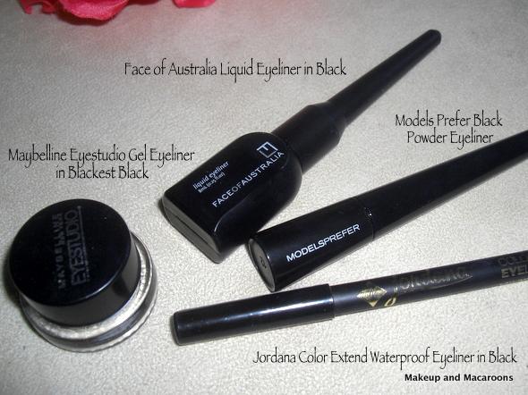 makeup and macaroons battle of the eyeliners pencil vs liquid vs gel vs powder