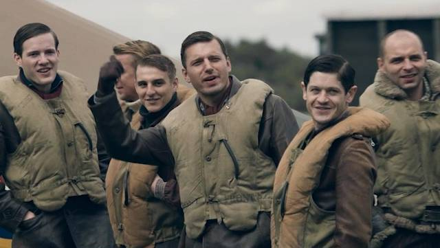 The Polish pilots in Hurricane (Mission of Honor) 2018 film