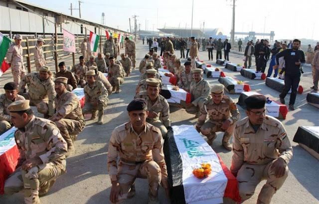 العراق وإيران يتبادلان رفاة جنود حرب الثمانينات