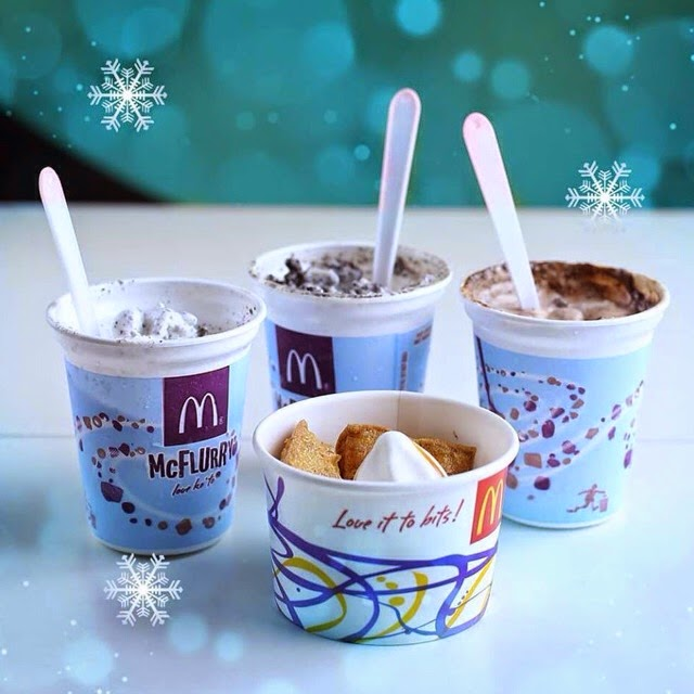 McFlurry Christmas at McDonald's Philippines