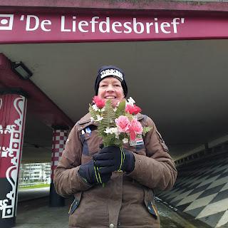 bloemen valentijnsdag geocaching delft