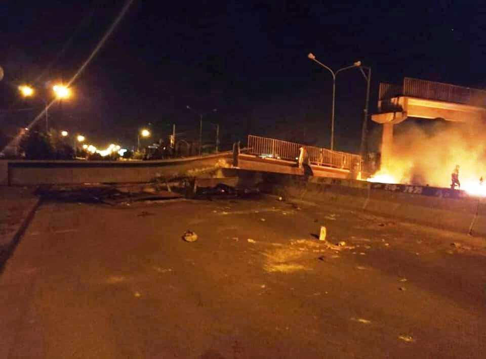 Adeptos a Morales tomaron represalias por los tres muertos de este martes / RRSS /MARCO COAQUIRA