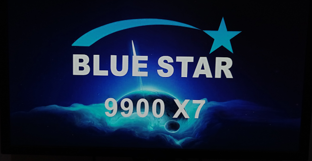 BLUE STAR 9900 X7 1506TV 8M BUILT IN WIFI NEW SOFTWARE WITH ECAST & G SHARE PLUS OPTION