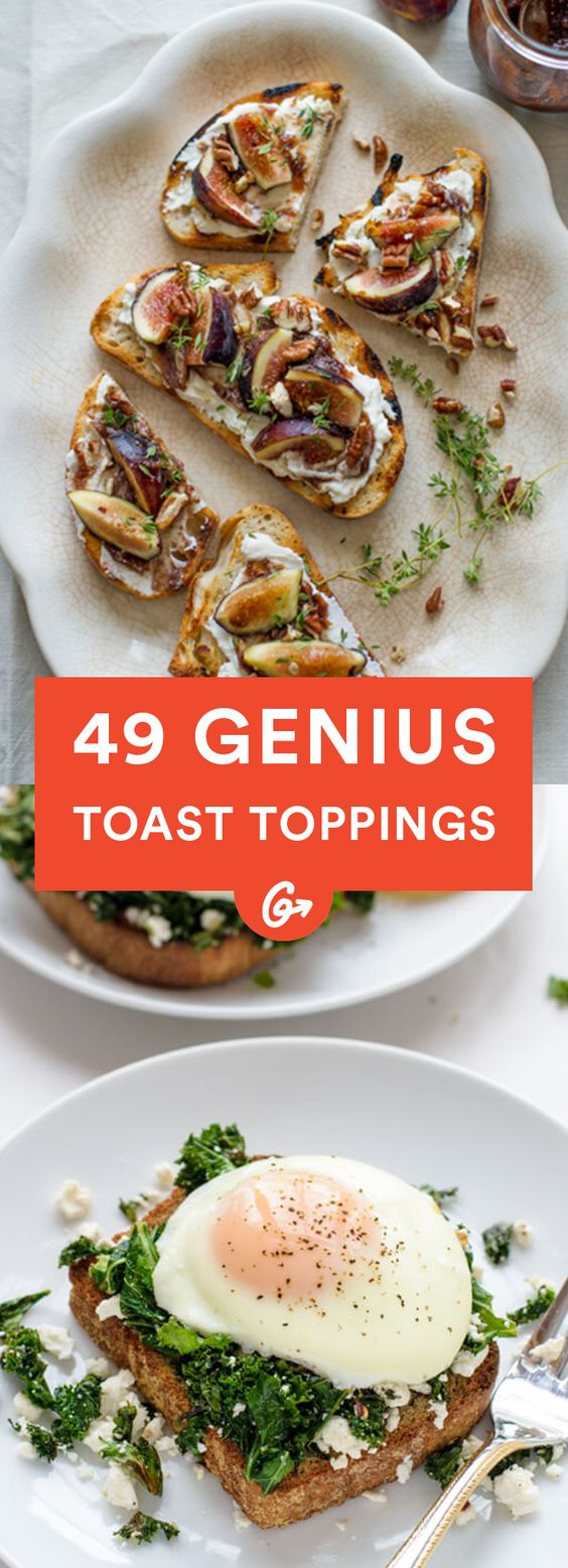 49 Genius Toast Recipes You Can Actually Make Yourself