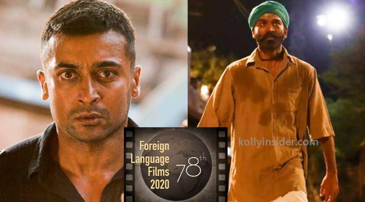 Asuran, Soorarai Pottu to be screened at 78th Golden Globe Awards