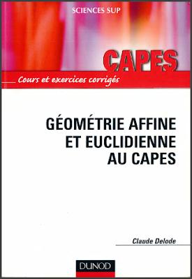 Télécharger Livre Gratuit Géométrie affine et euclidienne au Capes pdf