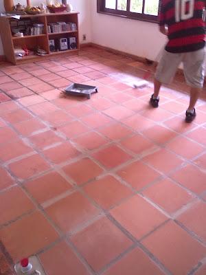 Piso lajot o ceramica bruta crua protegido for Pisos para garage rusticos